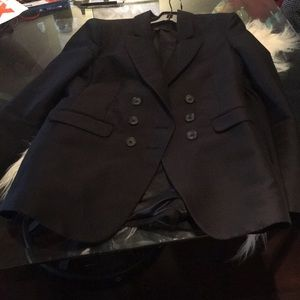 BCBG Double Breasted Black Blazer